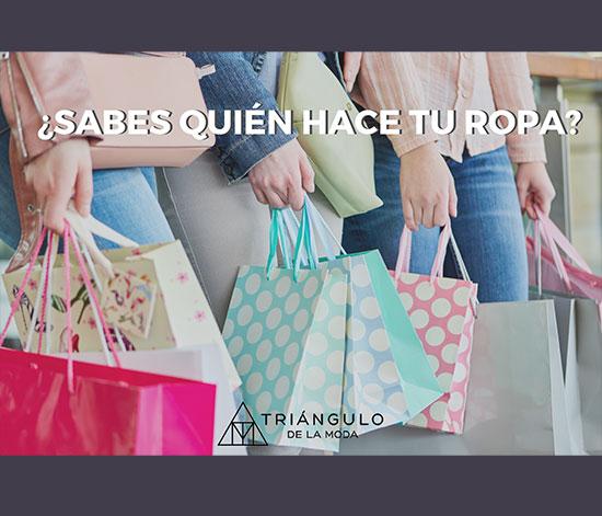 ¿Sabes quién hace tu ropa?, el Triángulo de la Moda analiza los hábitos de compra de moda en España