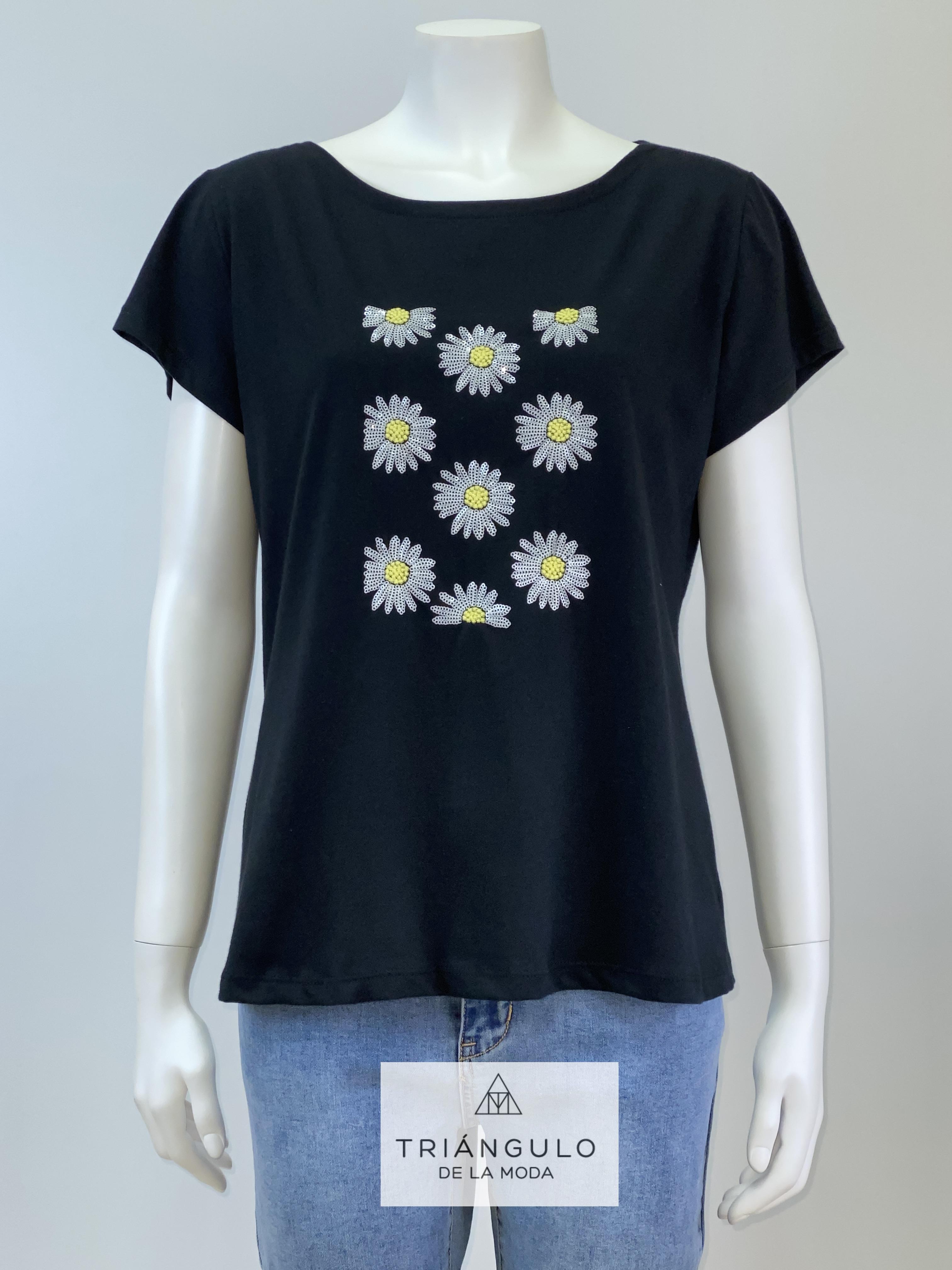 Tienda online del Triangulo de la Moda camiseta margaritas
