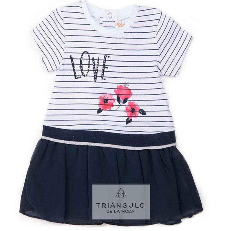 Tienda online del Triangulo de la Moda Vestido niña