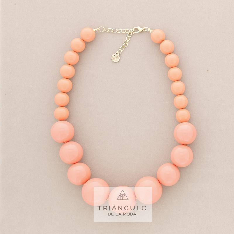 Tienda online del Triangulo de la Moda Gargantilla cuentas bolas