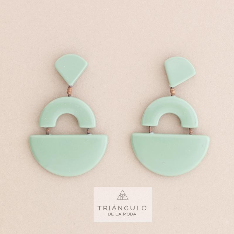 Tienda online del Triangulo de la Moda Pendientes colgante resina