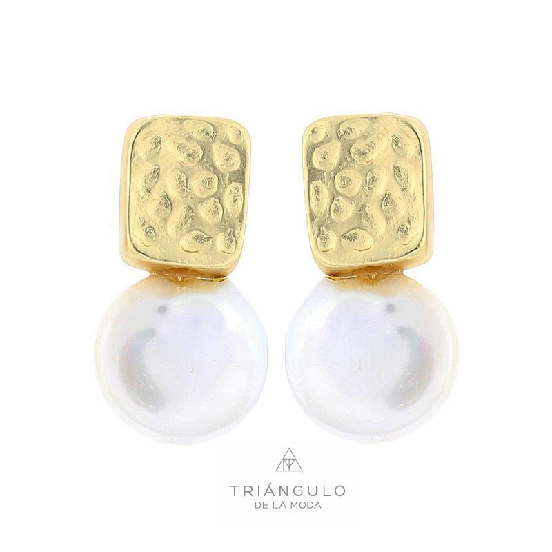 Tienda online del Triangulo de la Moda Pendientes metal perla cultivada