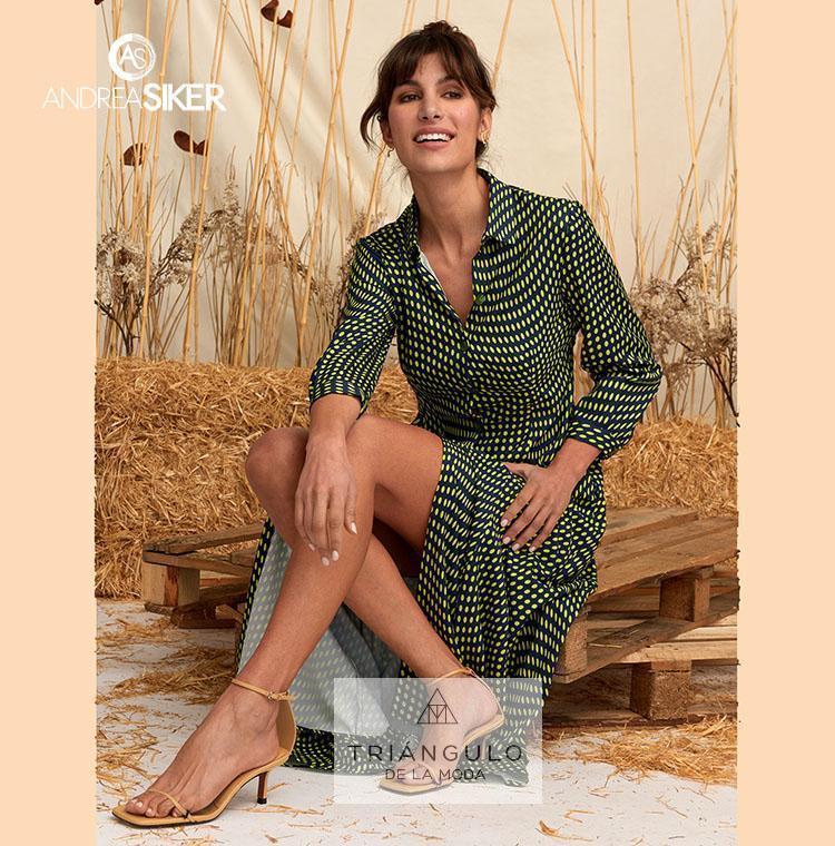 Tienda online del Triangulo de la Moda Vestido largo ANNETTE