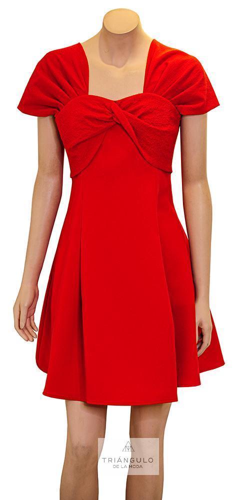 Tienda online del Triangulo de la Moda Vestido Corto Vuelo