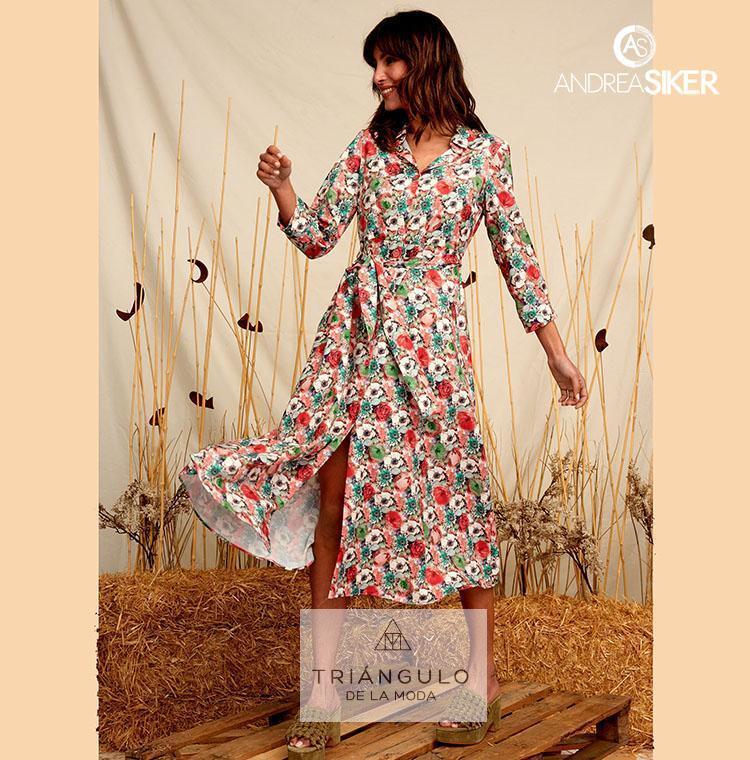 Tienda online del Triangulo de la Moda Vestido largo BRIGITTE