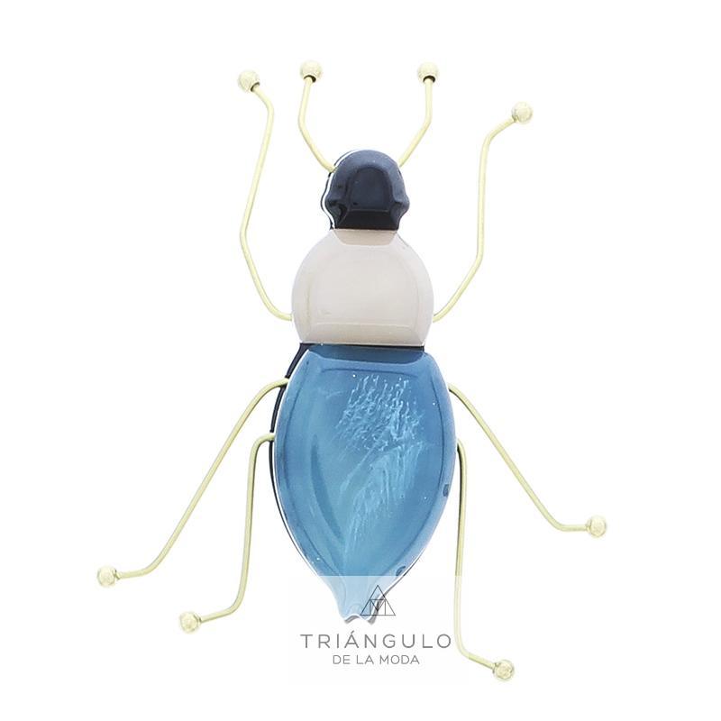 Tienda online del Triangulo de la Moda Broche insecto resina patas metal