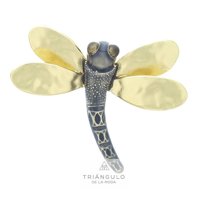 Tienda online del Triangulo de la Moda Broche libélula metal esmalte