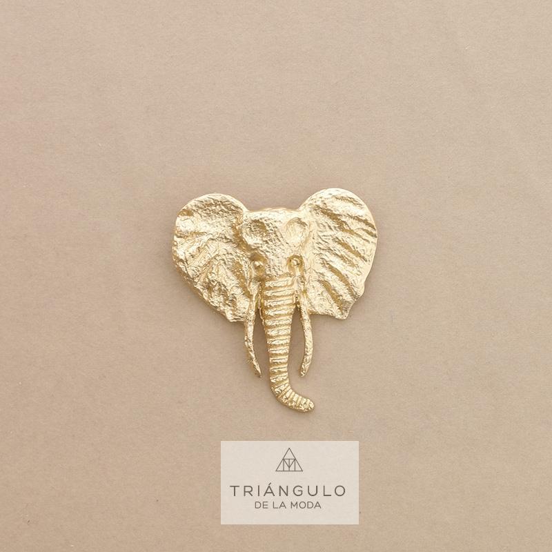 Tienda online del Triangulo de la Moda Broche elefante metal