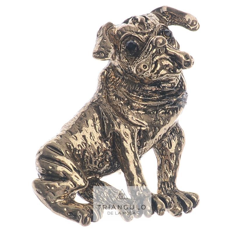 Tienda online del Triangulo de la Moda Broche perrito metal esmalte