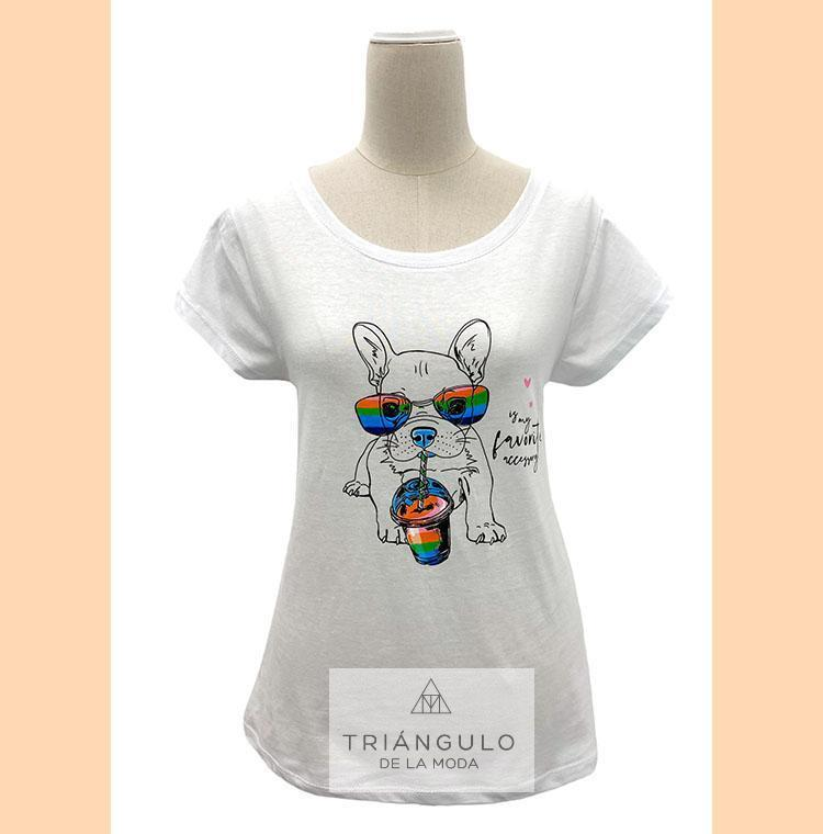 Tienda online del Triangulo de la Moda Camiseta DOG