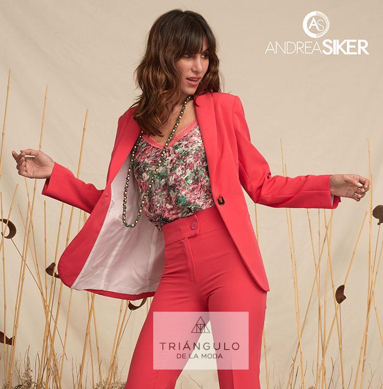 Tienda online del Triangulo de la Moda Chaqueta botón MIKAELA