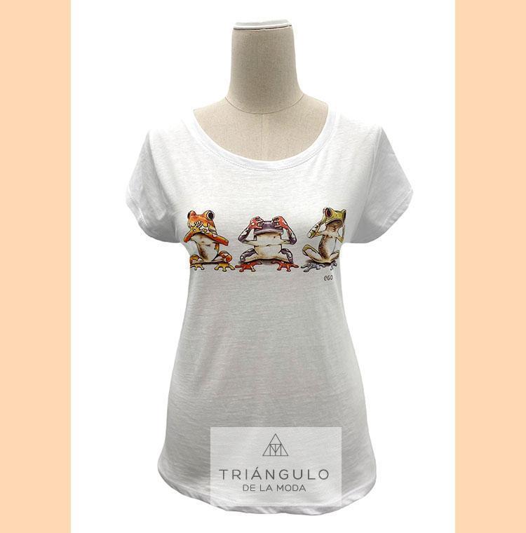Tienda online del Triangulo de la Moda Camiseta RANAS