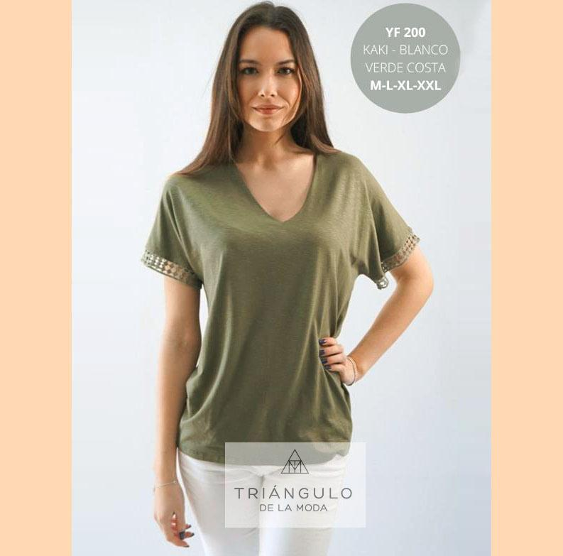 Tienda online del Triangulo de la Moda Camiseta VIGORE
