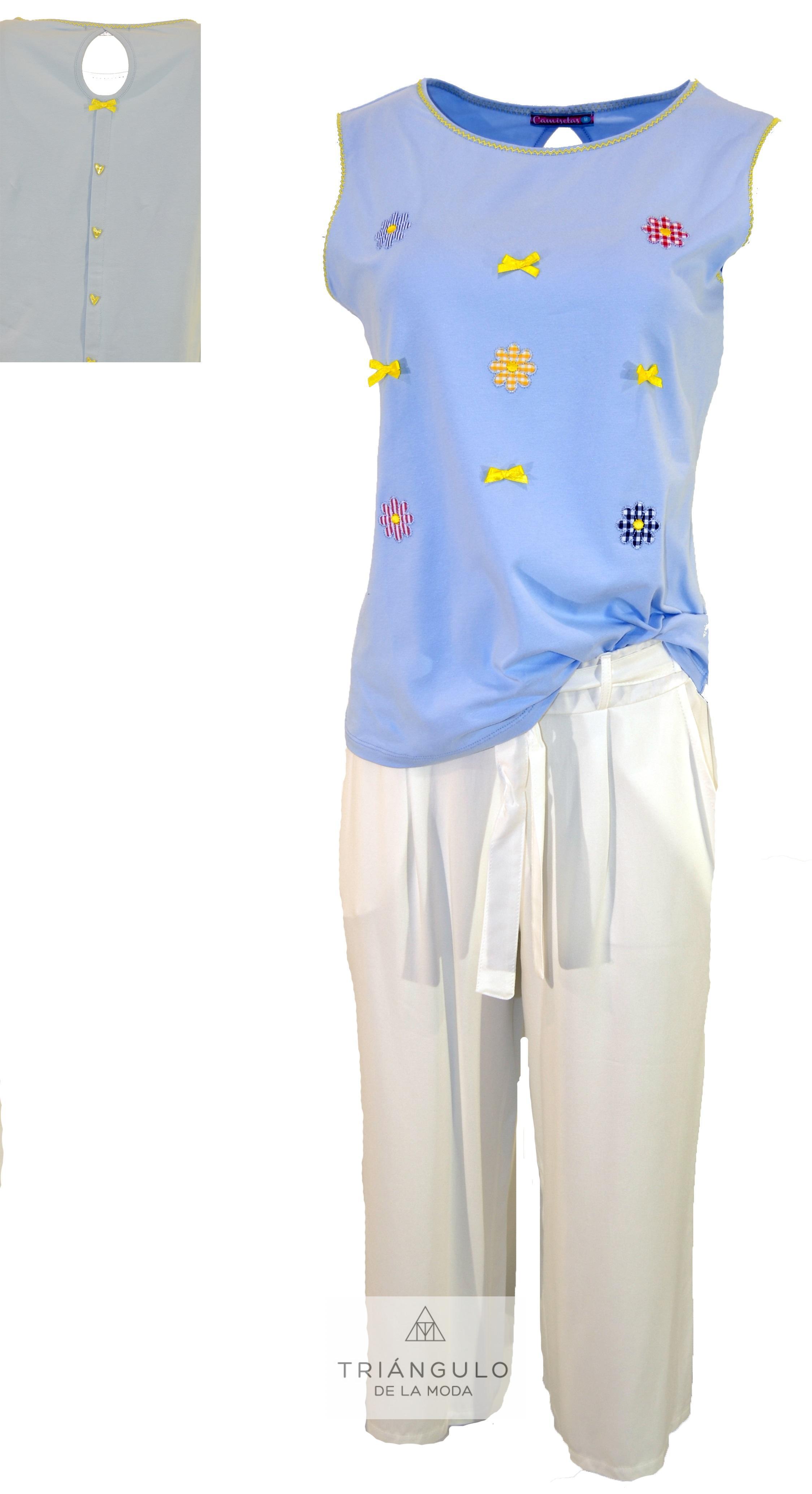 Tienda online del Triangulo de la Moda CAMISETA SIN MANGAS