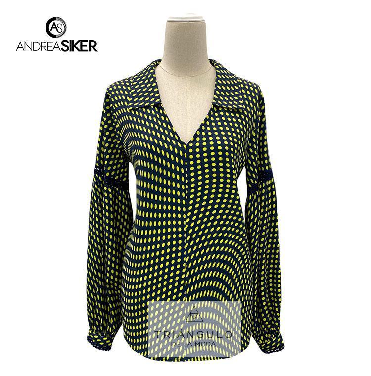 Tienda online del Triangulo de la Moda Blusa ANNETTE pasamanería