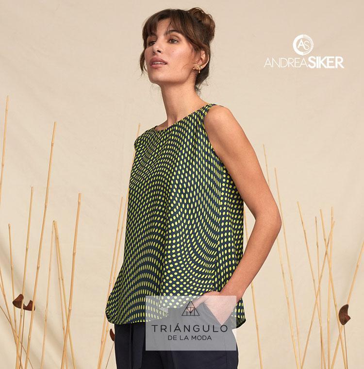 Tienda online del Triangulo de la Moda Blusa ANNETTE sin mangas