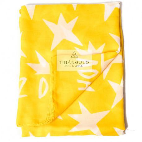 Tienda online del Triangulo de la Moda FULAR AGATHA PRINT ESTRELLAS BLANCAS