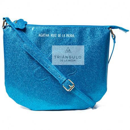 Tienda online del Triangulo de la Moda BANDOLERA AGATHA GRANDE NUBE AZUL
