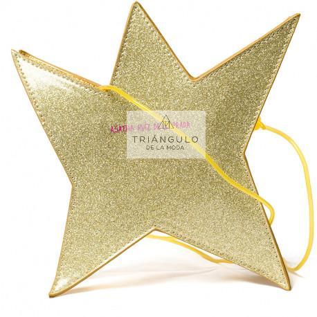 Tienda online del Triangulo de la Moda BANDOLERA AGATHA FORMA ESTRELLA AMARILLA