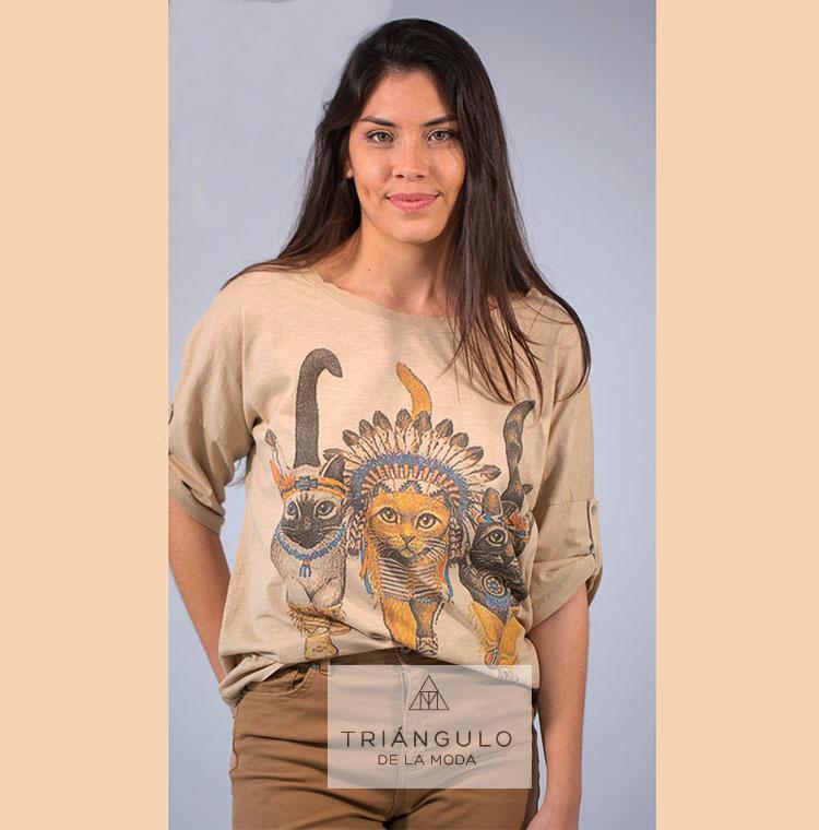 Tienda online del Triangulo de la Moda Camiseta CAT