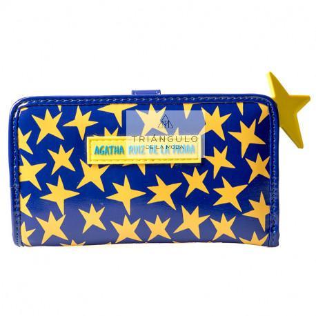 Tienda online del Triangulo de la Moda BILLETERO MEDIANO AGATHA ESTRELLAS