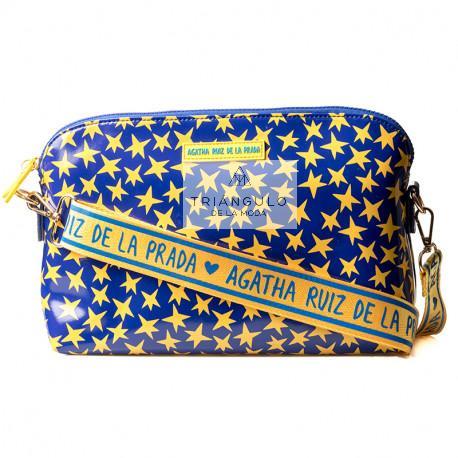 Tienda online del Triangulo de la Moda BOLSO CHARON CON ASA WEBBING AGATHA ESTRELLAS