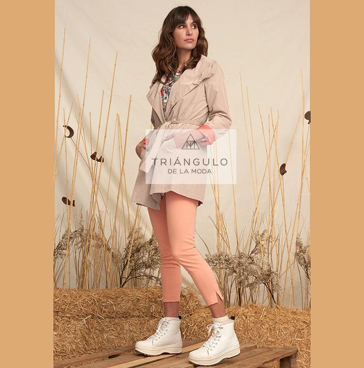 Tienda online del Triangulo de la Moda Gabardina ARISA cinturón