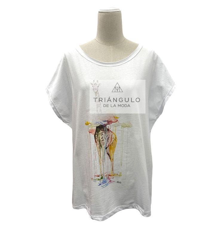 Tienda online del Triangulo de la Moda Camiseta OVER JIRAFA