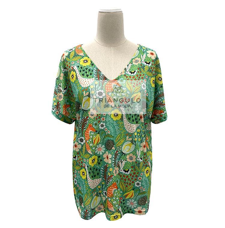 Tienda online del Triangulo de la Moda Camiseta VOLPE ERIZOS