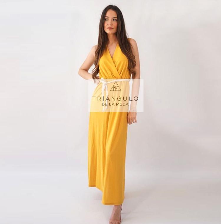 Tienda online del Triangulo de la Moda Vestido largo CORDÓN