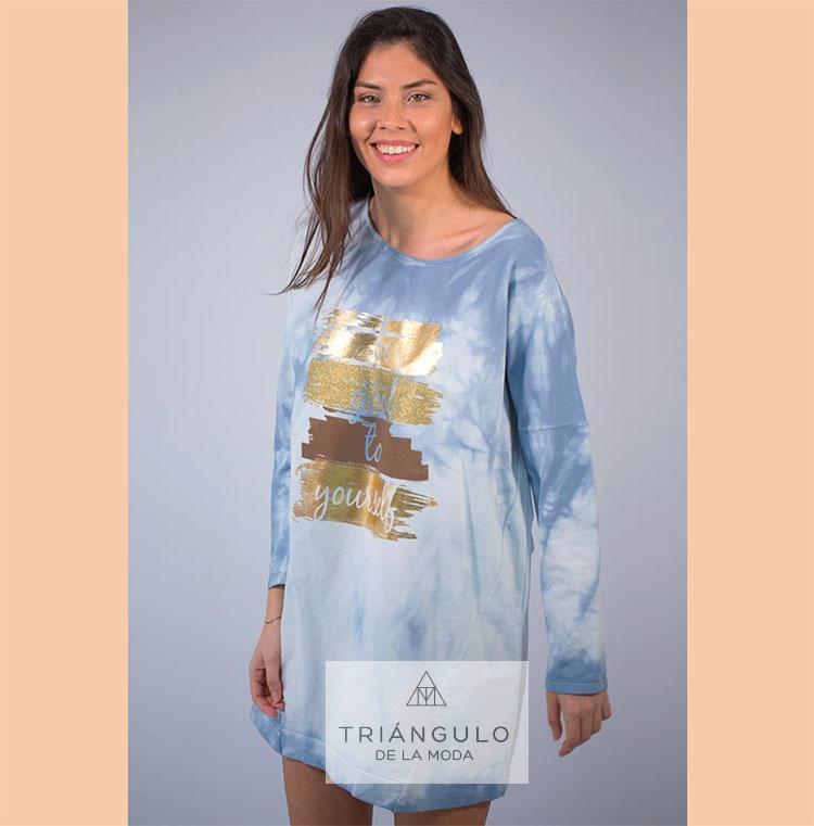 Tienda online del Triangulo de la Moda Vestido YOURSELF TIE DYE
