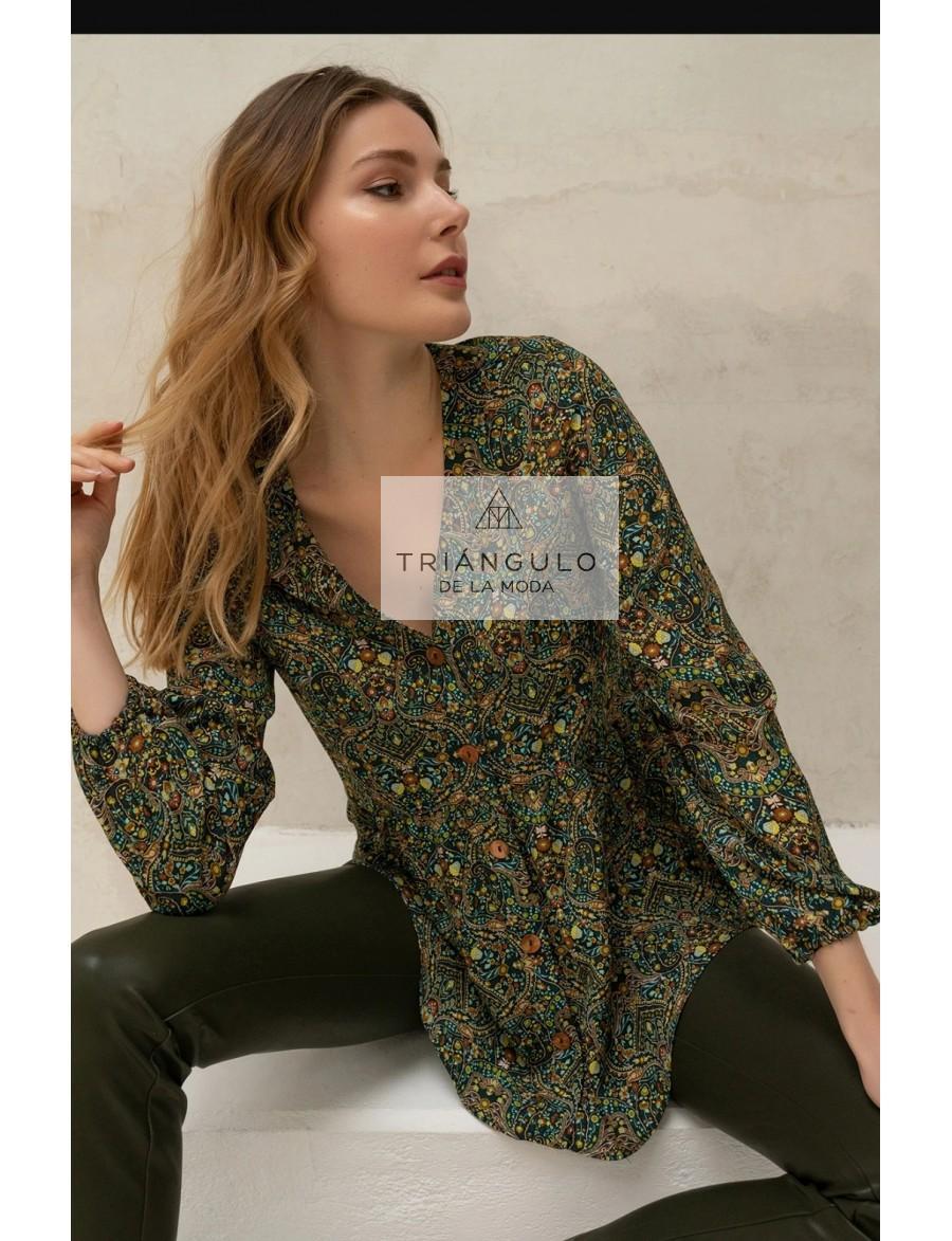 Tienda online del Triangulo de la Moda BLUSON ESTAMPADO