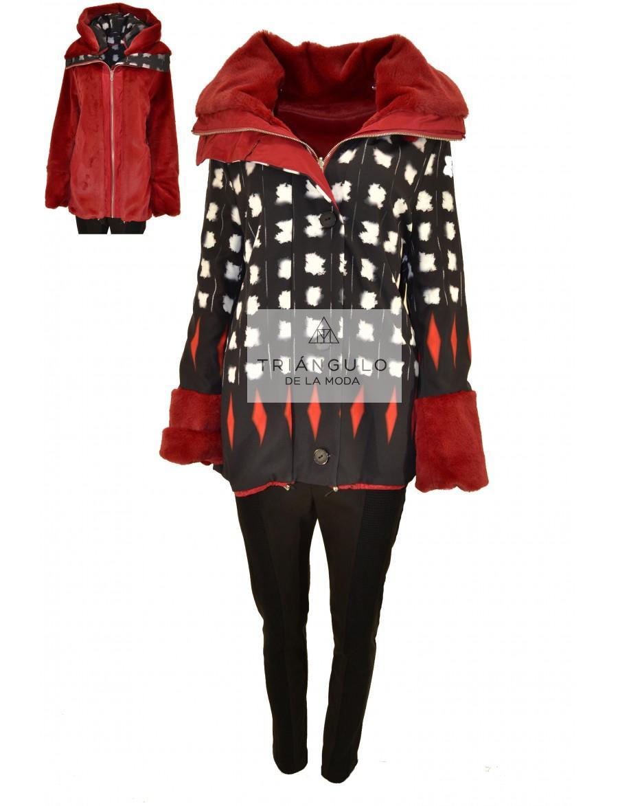 Tienda online del Triangulo de la Moda CHAQUETON REVERSIBLE