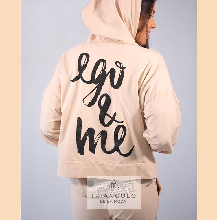 Tienda online del Triangulo de la Moda Sudadera EGO