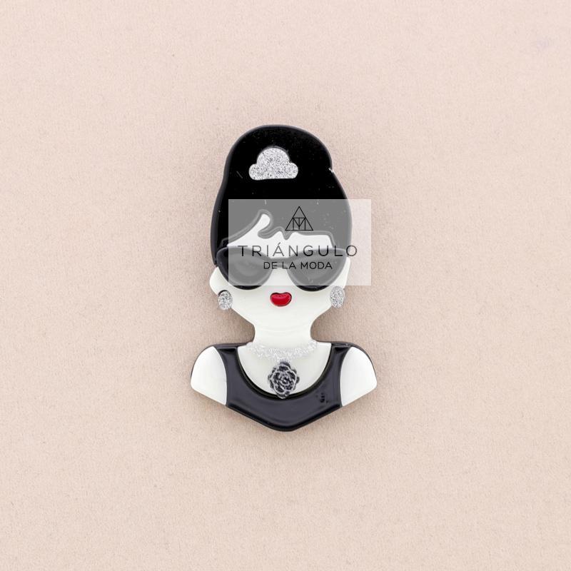 Tienda online del Triangulo de la Moda Broche resina Audrey