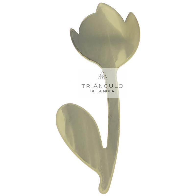 Tienda online del Triangulo de la Moda Broche flor resina