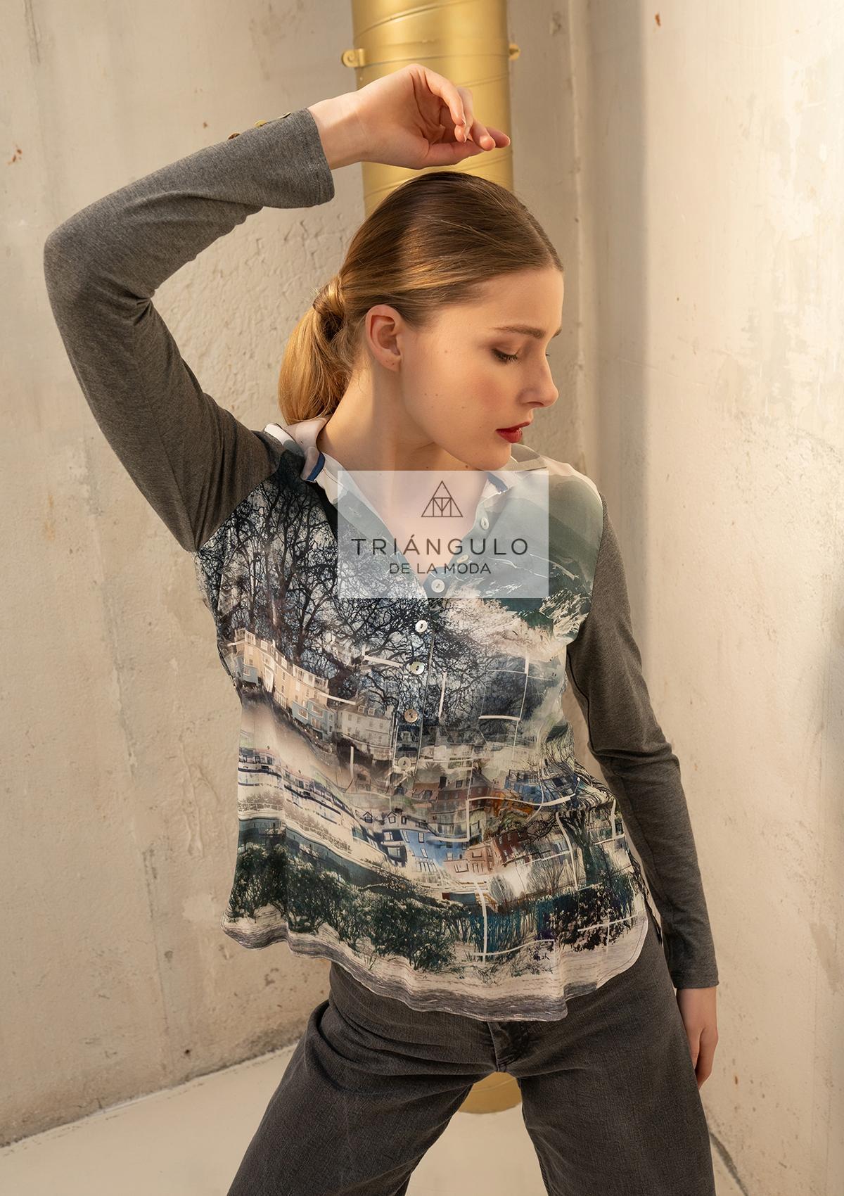 Tienda online del Triangulo de la Moda CAMISA ESTAMPADA