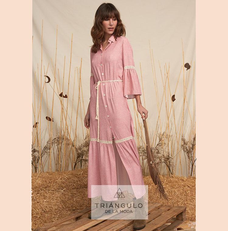 Tienda online del Triangulo de la Moda Vestido CECILE largo