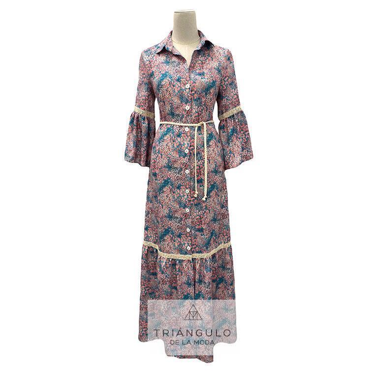 Tienda online del Triangulo de la Moda Vestido largo CAMILE