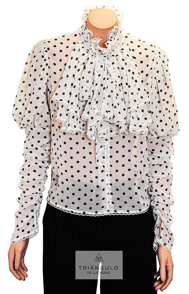 Tienda online del Triangulo de la Moda BLUSA GASA POLKA DOTS