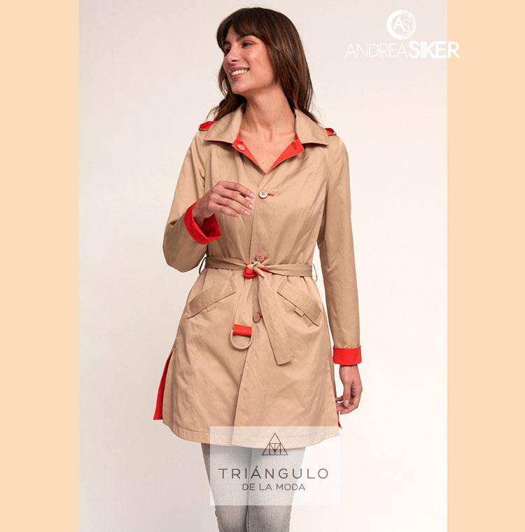 Tienda online del Triangulo de la Moda Gabardina PLUTO reversible