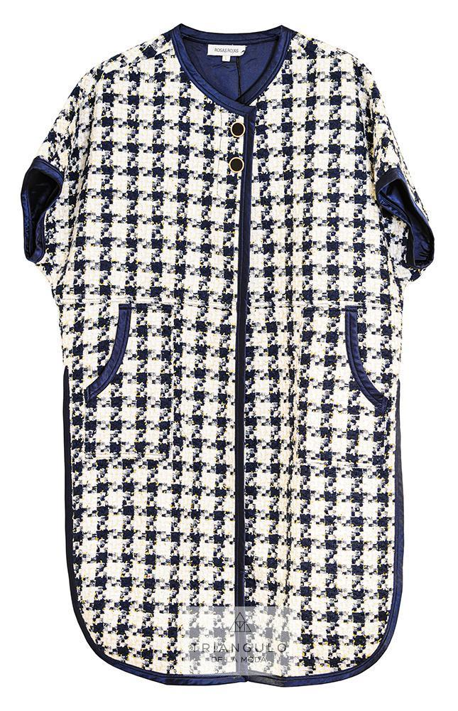 Tienda online del Triangulo de la Moda Abrigo manga corta
