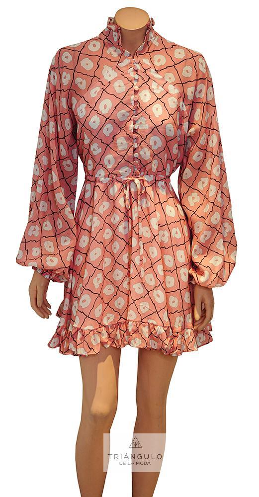 Tienda online del Triangulo de la Moda Vestido Corto Estampado