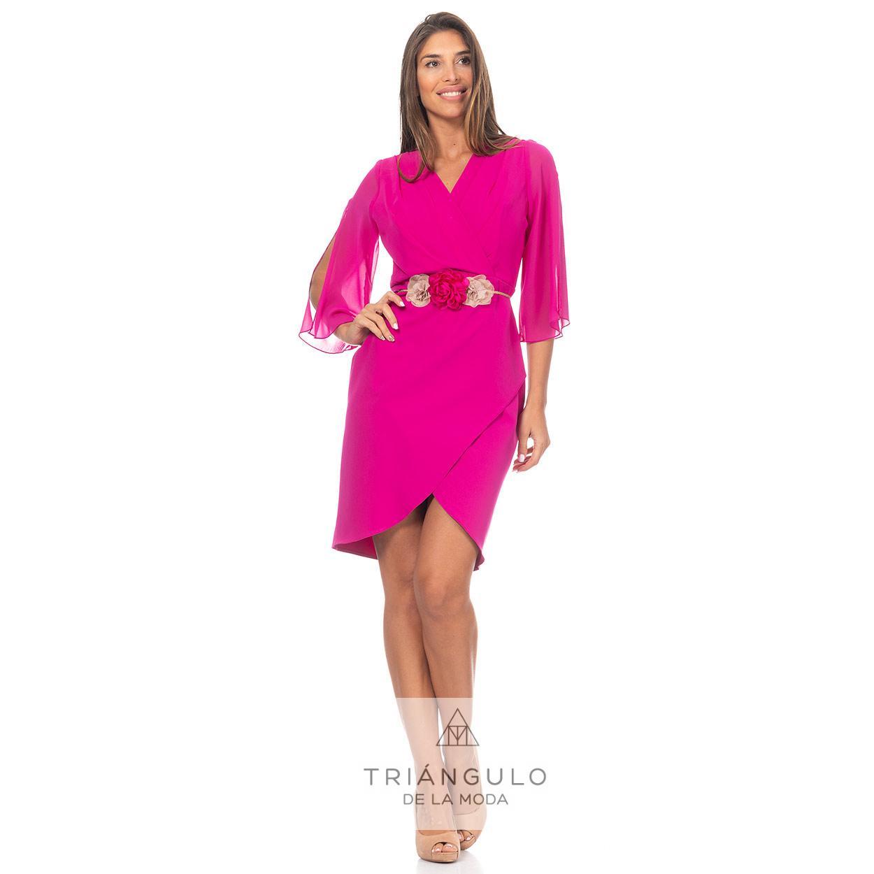 Tienda online del Triangulo de la Moda VESTIDO SORTH MAGAS GASA