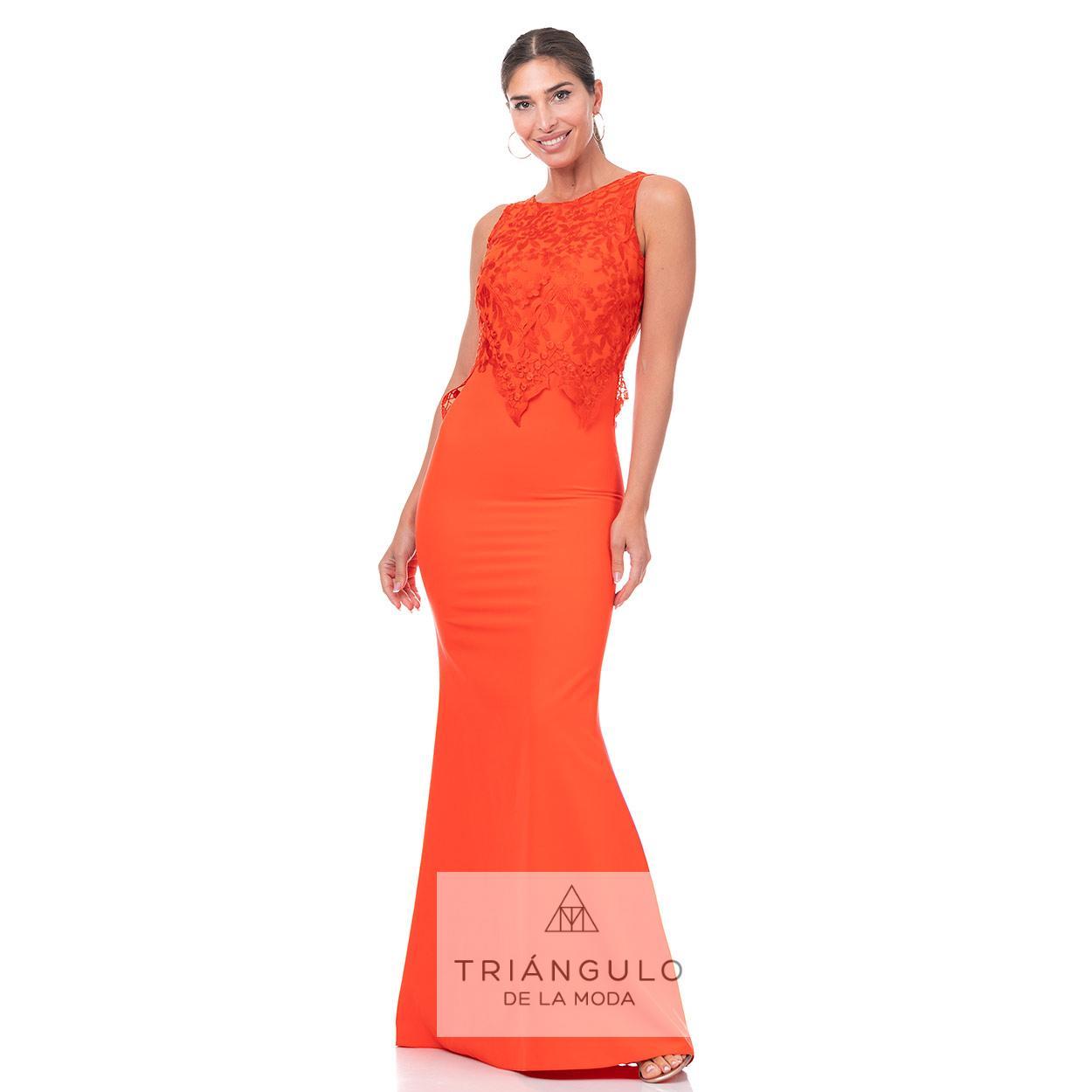 Tienda online del Triangulo de la Moda VESTIDO SIRENA CUERPO BLONDA