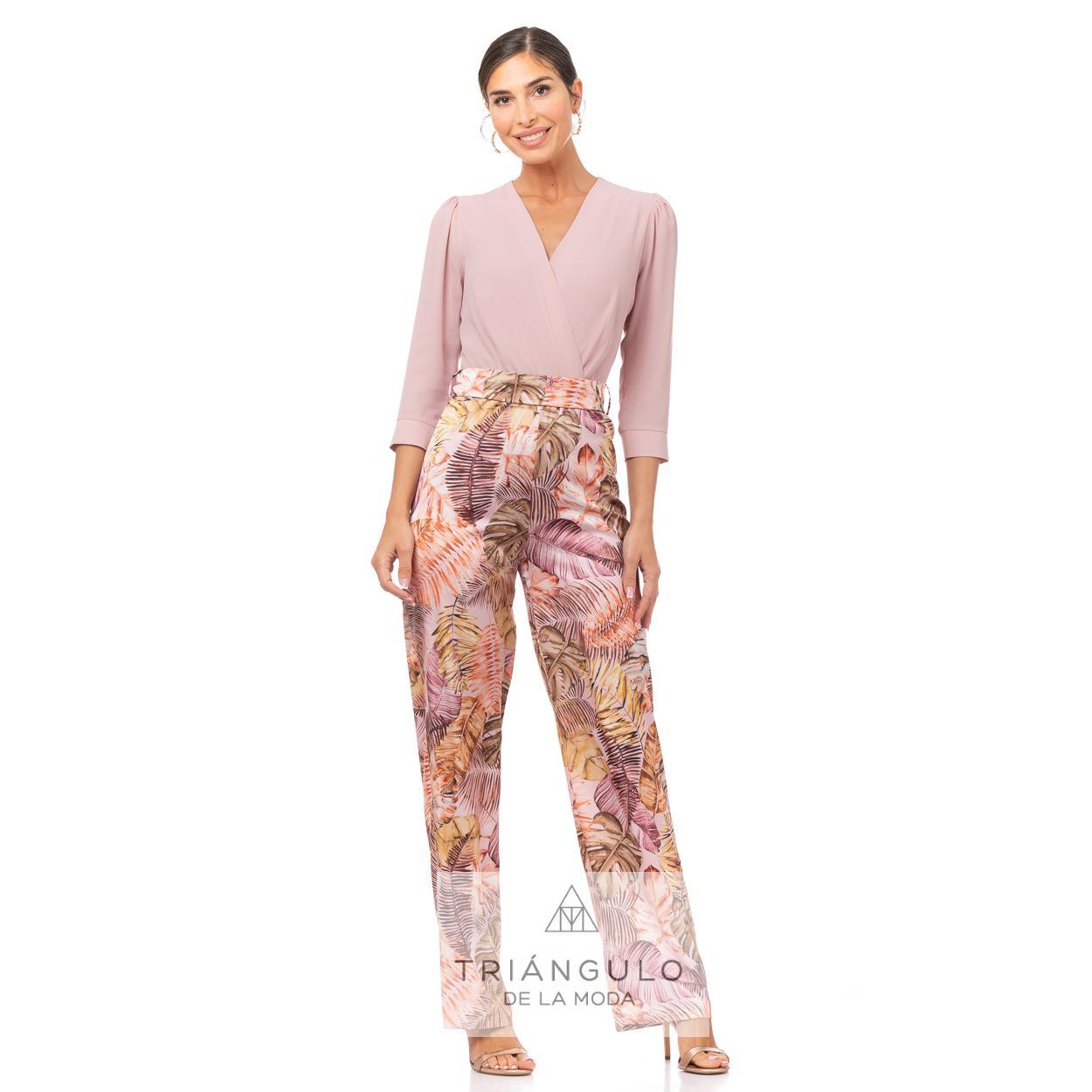 Tienda online del Triangulo de la Moda MONO COMBINADO LISO