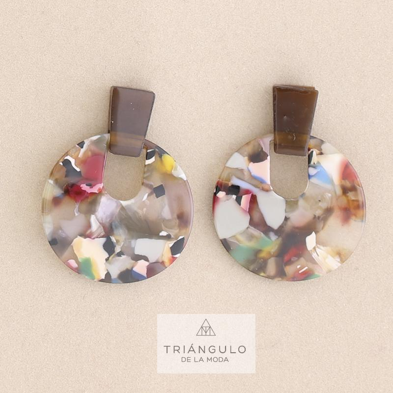 Tienda online del Triangulo de la Moda Pendientes coglante resina
