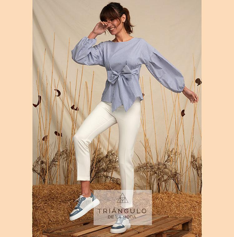 Tienda online del Triangulo de la Moda Blusa FLEUR