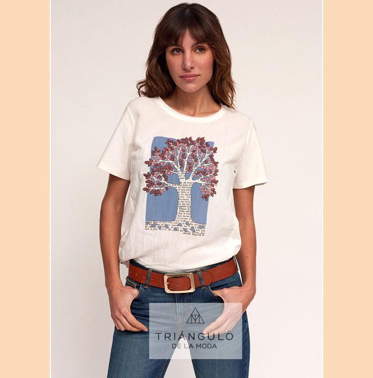 Tienda online del Triangulo de la Moda Camiseta ARBOL
