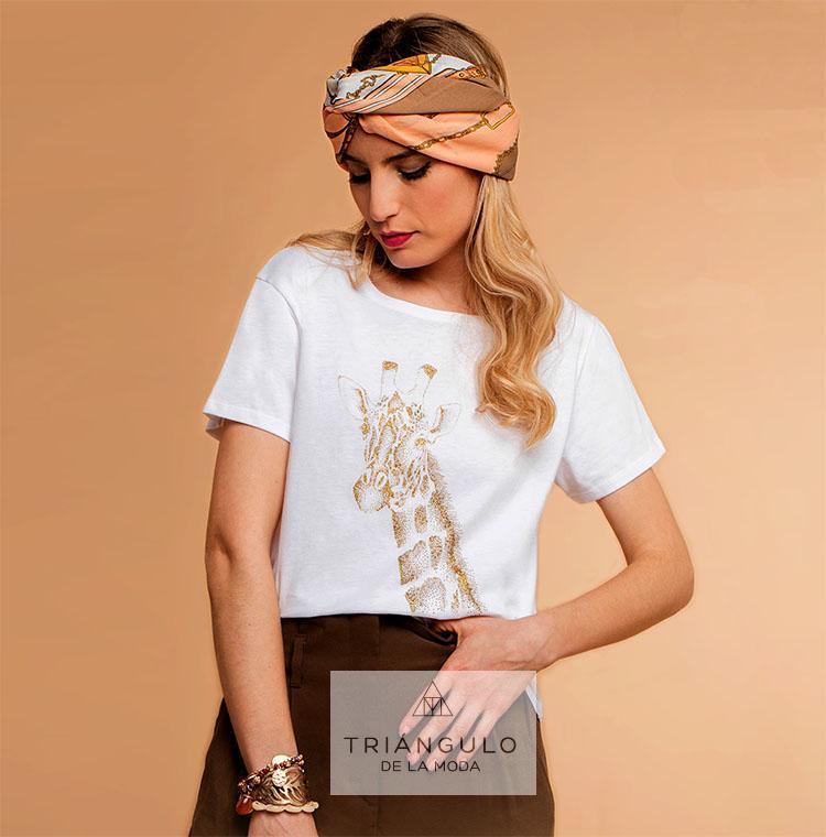 Tienda online del Triangulo de la Moda Camiseta JIRAFA